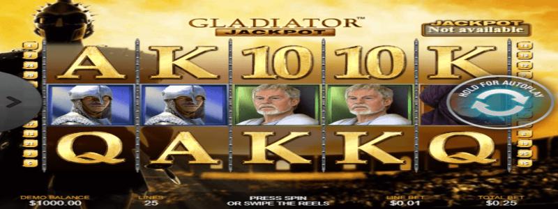 gladiator jackpot arvostelu