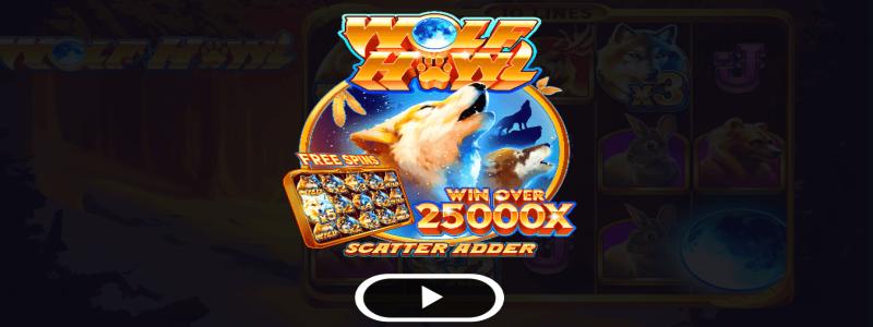 wolf howl kolikkopelit